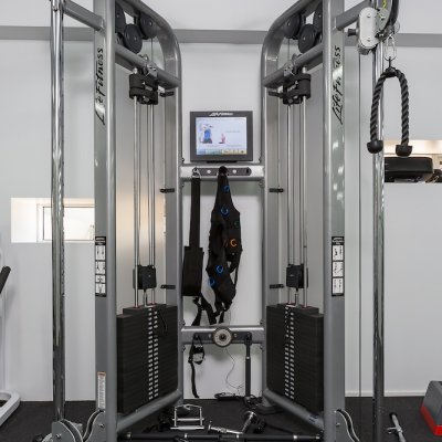 Oxygen Apartments Spring Hill Gym Strength Trainer